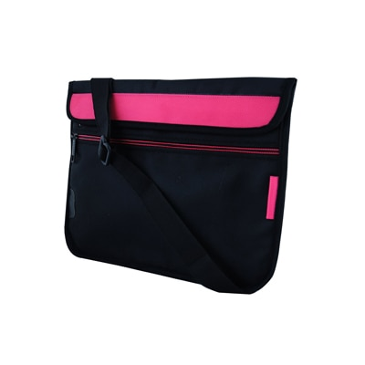 Saco Soft Durable Pouch For Apple 32GB IPad With Wi (Pink & Black)
