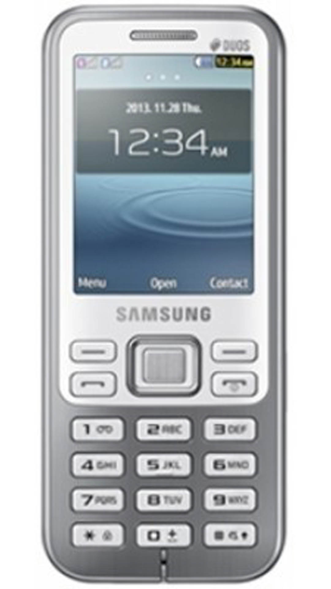 Samsung Metro DUOS C3322  White  available at Paytm for Rs.3198