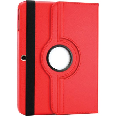 Smacc Book Cover For Samsung Galaxy Note Sm N8000 10.1 Inch Tablet (Red)