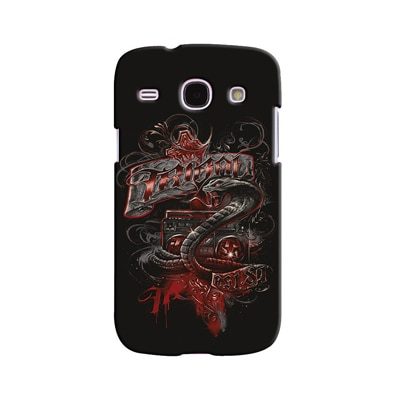 Snooky Digital Print Hard Back Case Cover For Samsung Galaxy Galaxy Core I8262 (Black)