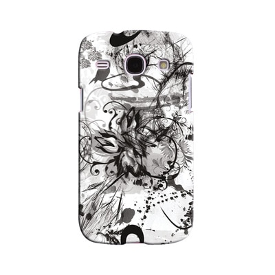 Snooky Digital Print Hard Back Case Cover For Samsung Galaxy Galaxy Core I8262 (White)