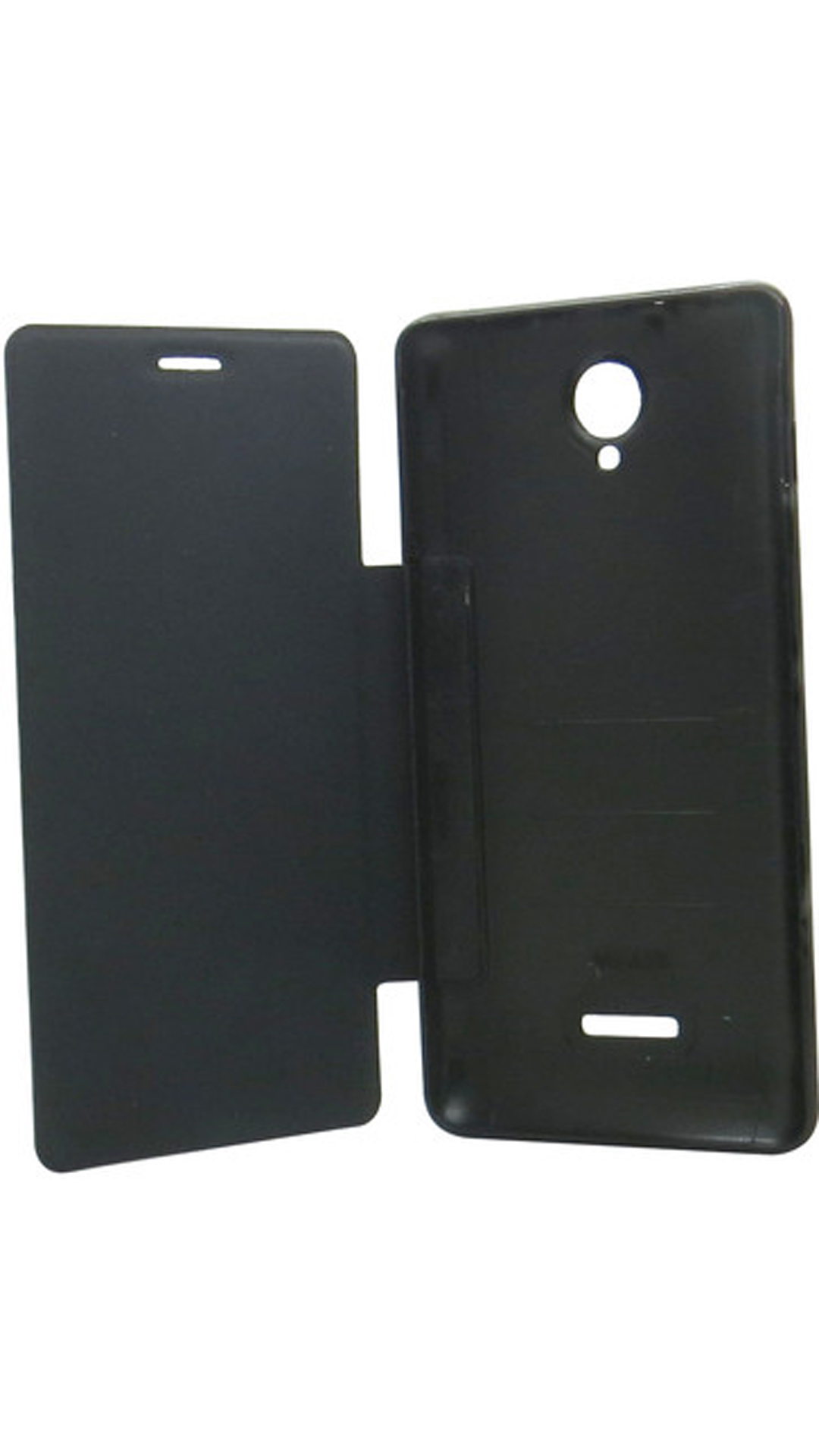 ClickAway Flip Cover For For Micromax Canvas Fun A76  Black  available at Paytm for Rs.197