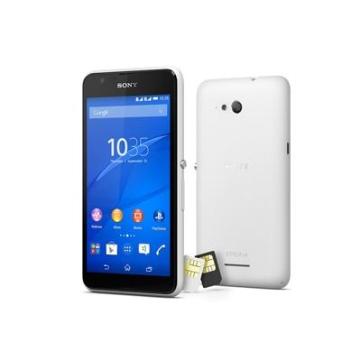 Sony Xperia E4g Dual SIM (White)