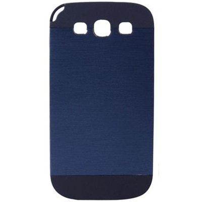 TOS Back Cover Cases For Samsung Galaxy S3 (Blue) With Screen Protector
