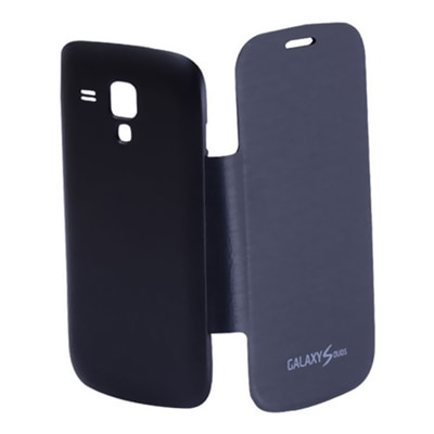 TOS Flip Cover For Samsung Galaxy Duos 2 S7582/S Duos S7562 (Blue)