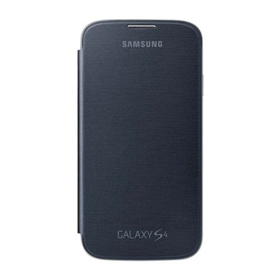 ClickAway Cover Flip Cover For Samsung Galaxy S4 (Black)