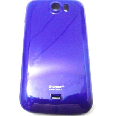 U CASE Back Cover For Micromax Canvas2 A110 (Purple)