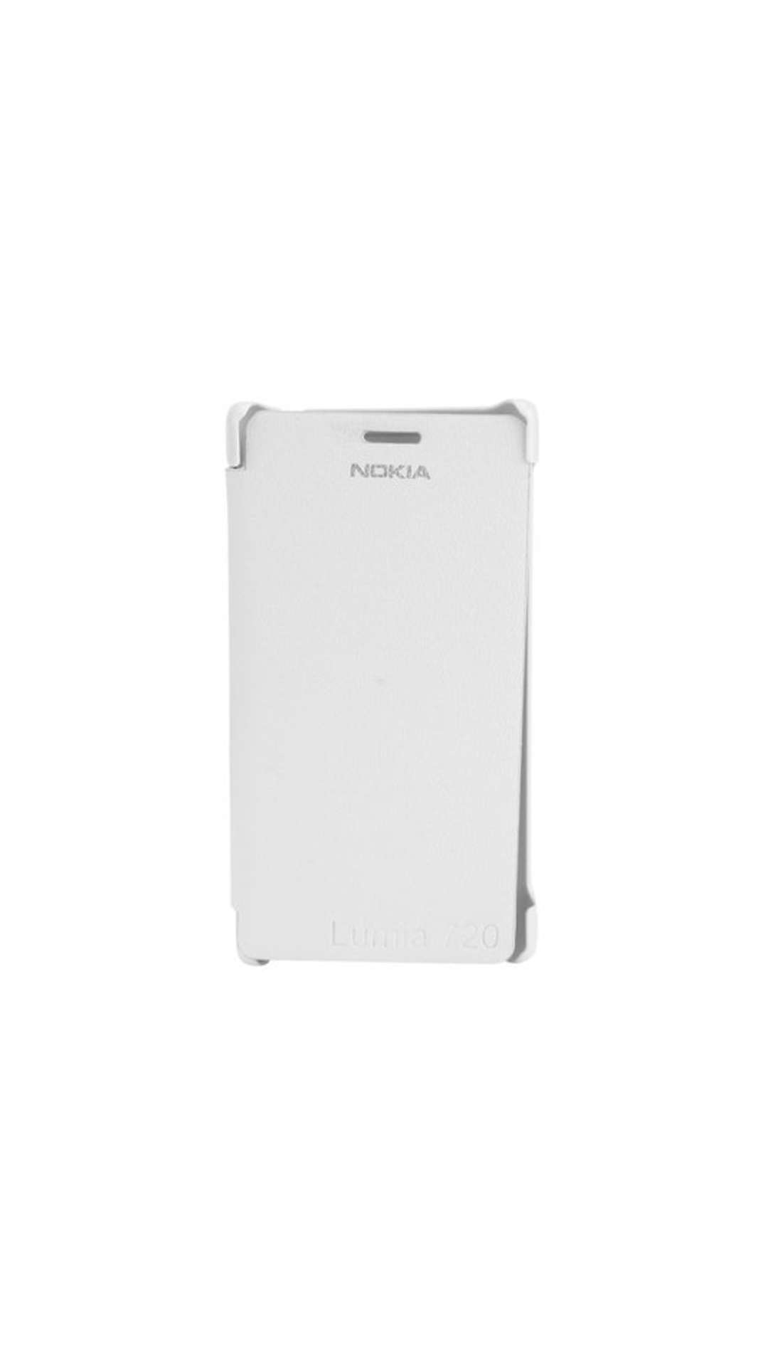 YGS Flip Cover For Nokia Lumia 720  White  available at Paytm for Rs.145