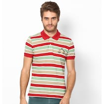 American Swan Arlington Sport Red Polo T-Shirts For Men