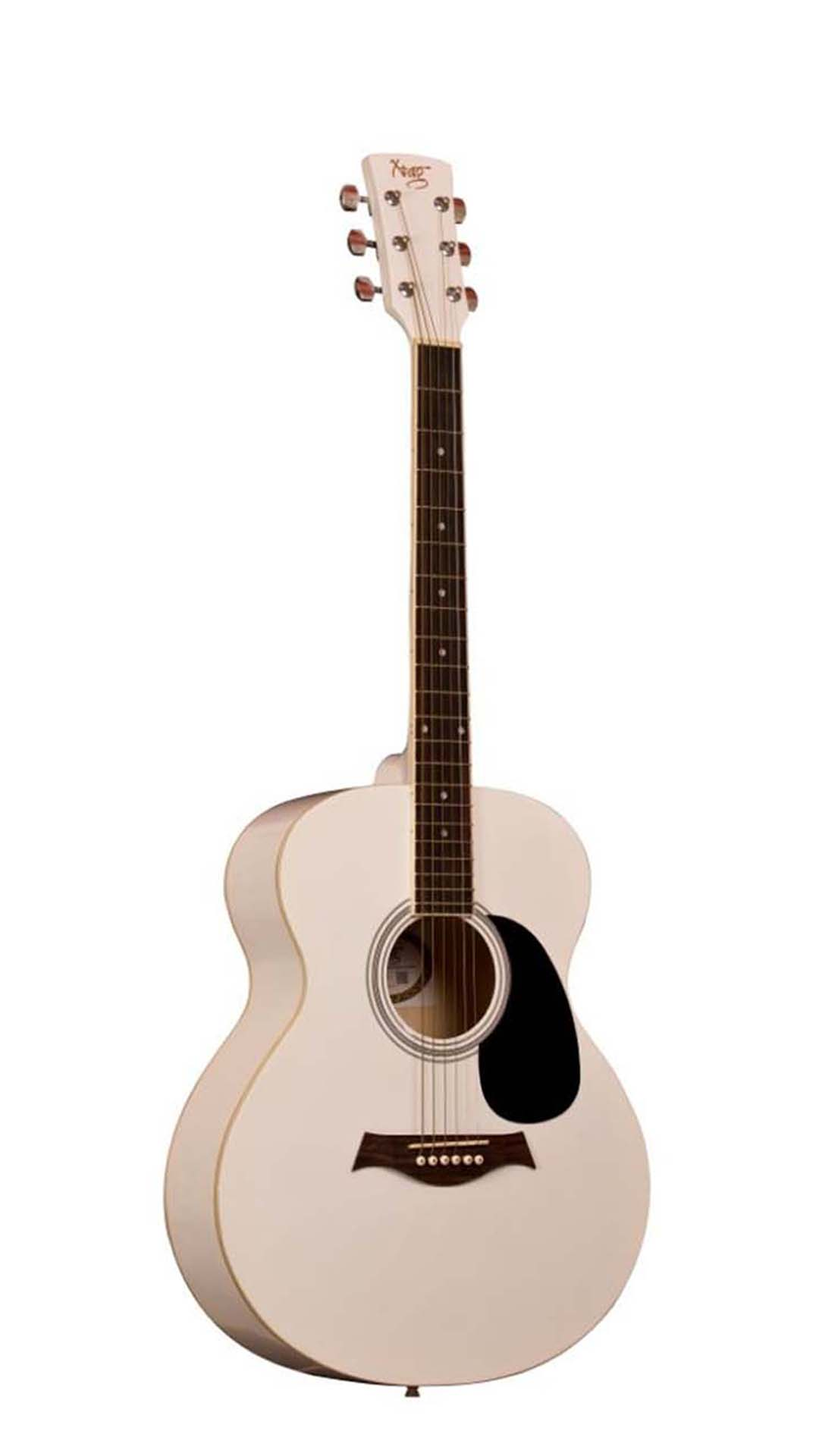 X Tag Acoustic Guitar White available at Paytm for Rs.8999
