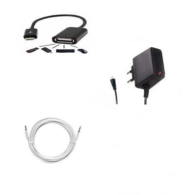Mxl 3 In 1 Mobile Accessories Combo For Samsung Galaxy Star S5282 available at Paytm for Rs.309