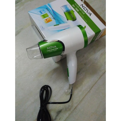 OEM 1500 W Hair Dryer For Unisex (White & Green)