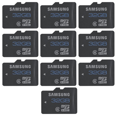 Samsung MB-MSBGB/IN 32 GB Class 6 (PACK Of 10)