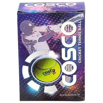 Cosco Cricket Cricket Tennis Ball (Pack Of 1Dzn)