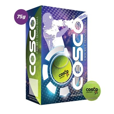Cosco Cricket Cricket Tennis Ball (Pack Of 3Dzn)
