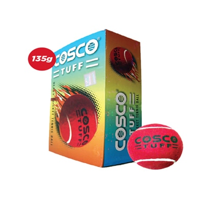 Cosco Tuff Cricket Tennis Ball (Pack Of 5 Dzn)