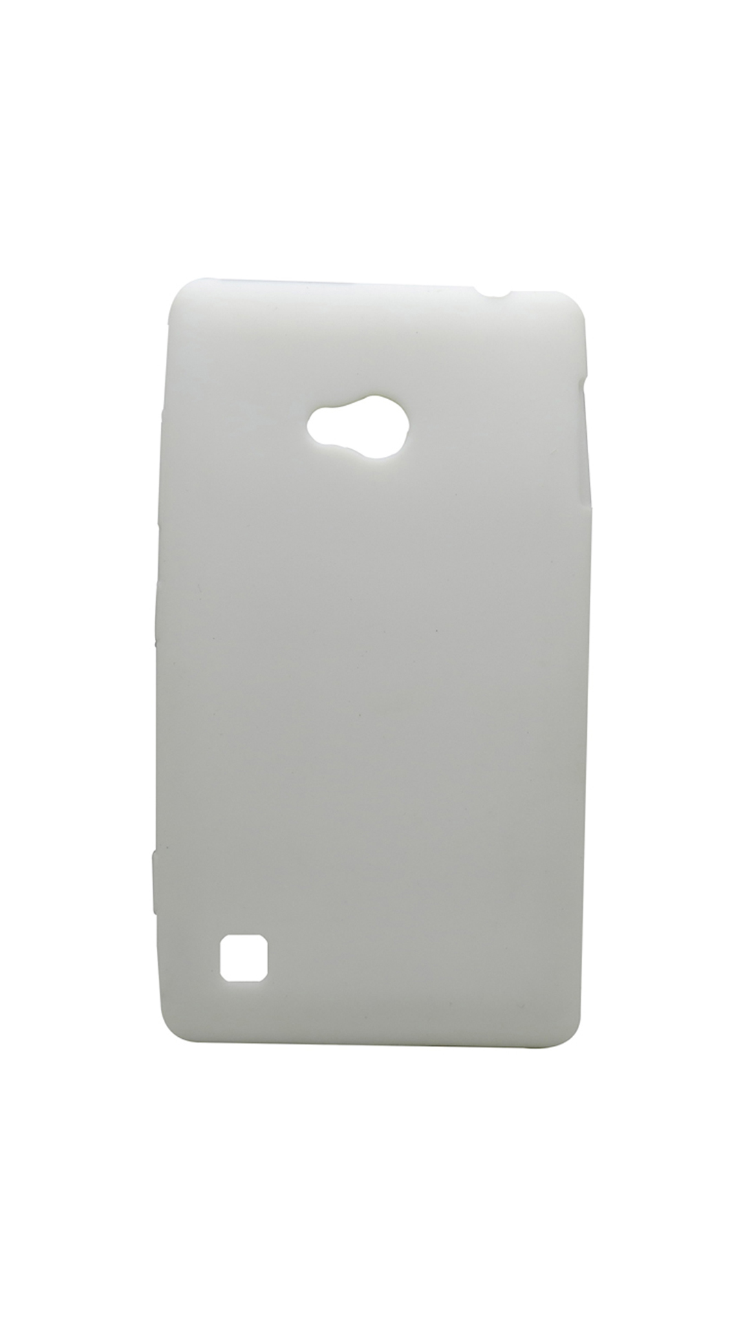 Snooky Jelly Gel Back Cover For Nokia Lumia 720  White  available at Paytm for Rs.169