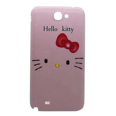 Snooky Designer Pink Slim Hard Battry Back Case Cover For Samsung Galaxy Note2 N7100 Td8306