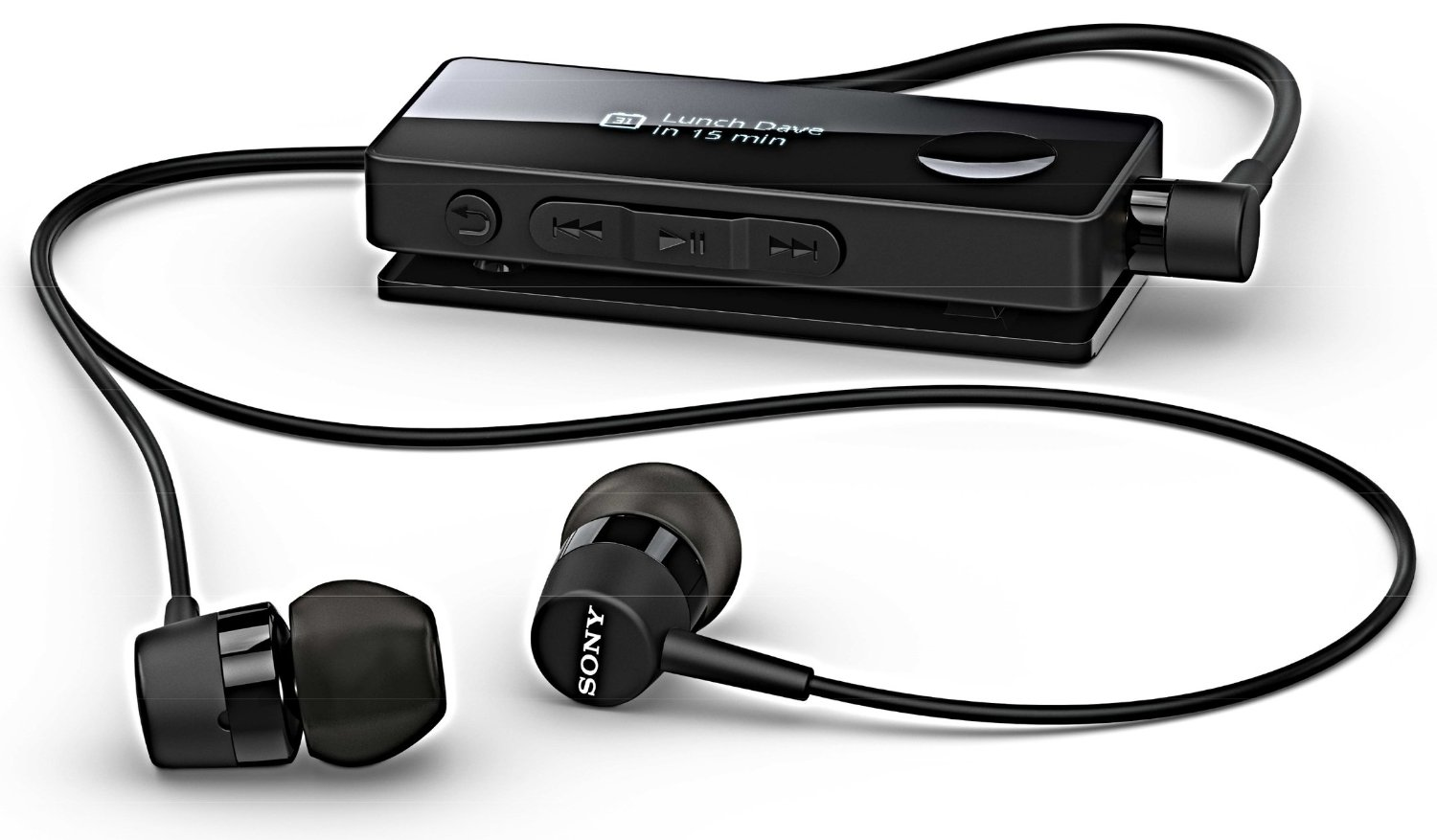 Sony Stereo Bluetooth Headset (SBH50) (Black)