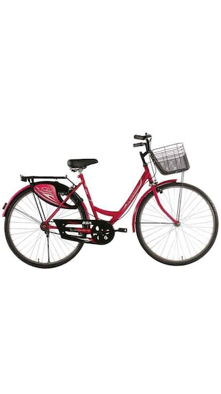 Bsa Ladybird Shine Bicycle-Pink (Size-24 Inch)