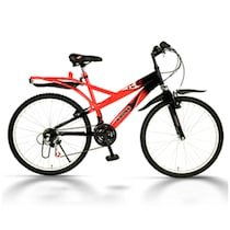 Kross K30 Multispeed Bicycle-Red (Size-26T 20 Inch)