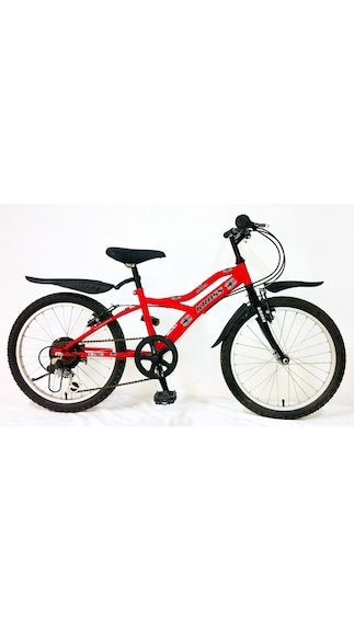 Kross Spider Multi Speed Bicycle-Red And Black (Size-24 Inch)
