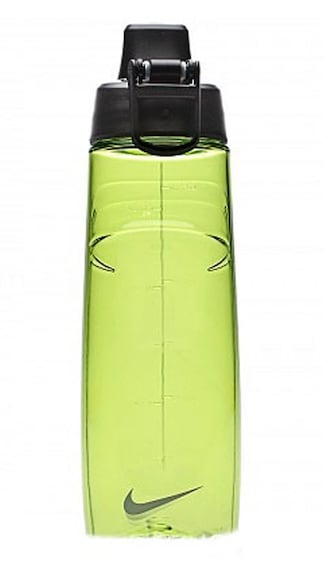Nike T1 Hydro Flow Water Bottle-Green And Black(Size-709 Ml)