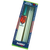 Rabro Wooden Cricket Set-Multicolor