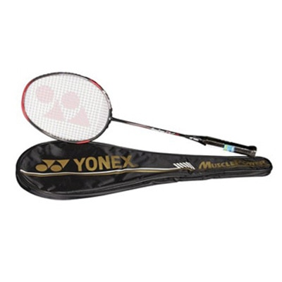 Yonex Muscle Power 29 Lite Badminton Racquet-Black And Red