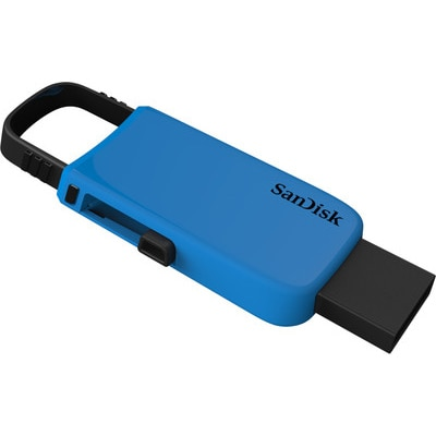 Sandisk CZ59 Cruzer U USB 2.0 16 GB Utility Pendrive (Blue)