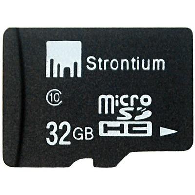 Strontium MicroSDHC 32 GB Class 10 Memory Card