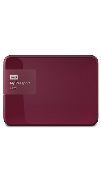 WD My Passport Ultra (WDBBKD0020BBY) 2 TB Portable External Hard Drive (Berry)