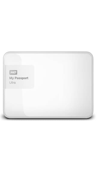 WD My Passport Ultra (WDBBKD0020BWT) 2 TB Poratble External Hard Drive (White)