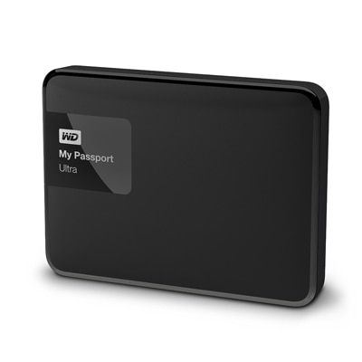 WD My Passport Ultra (WDBGPU0010BBK) 1 TB External Hard Drive (Black)