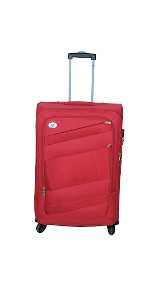 American Tourister Impression Red Trolley Bag (Medium Check-in Luggage)