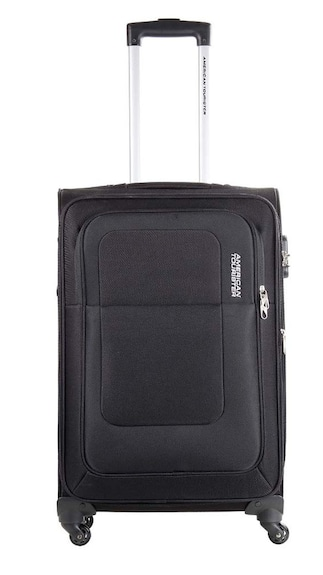 American Tourister Black Spinner Trolley