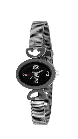 GenX Black Analog Watch