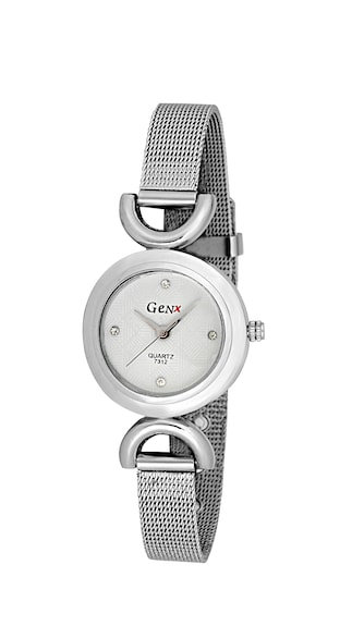 GenX Silver Analog Watch