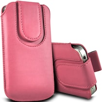 Wow Pouch For Lava Iris Pro 30 (Pink)