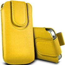 Wow Pouch For Lava Iris Pro 30 (Yellow)