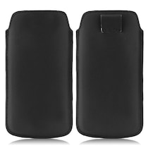 Wow Pouch For Micromax Bolt A58 (Black)
