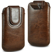 Wow Pouch For Micromax Canvas Ego A113 (Brown)
