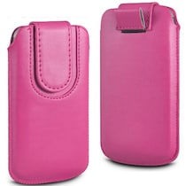 Wow Pouch For Micromax Canvas Ego A113 (Pink)