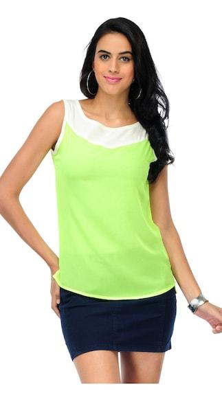 Yepme Green Women's Top (Size-M)
