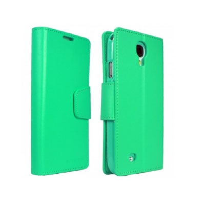 YGS Premium Dairy Wallet Case Cover For Samsung Galaxy Galaxy S4 I9500 (Mint) (Green)