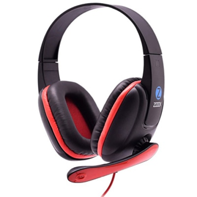 Zoook ZM-H703 Headphone With Mic (Black)