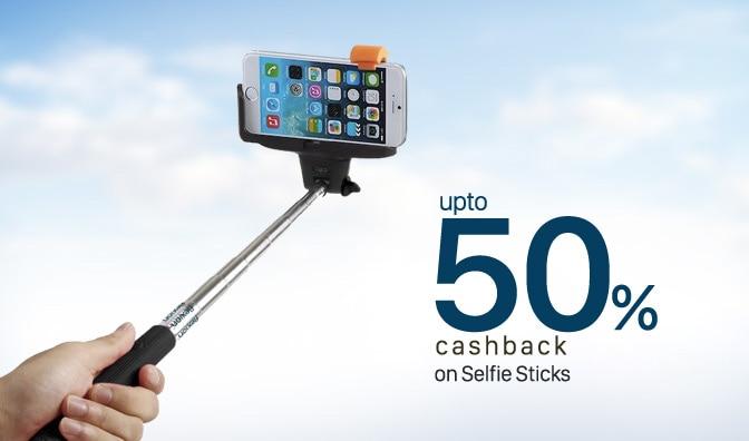 selfie stick upto 50 cashback for rs 225 0 at paytm savemoneyindia and mega1daydeals india. Black Bedroom Furniture Sets. Home Design Ideas