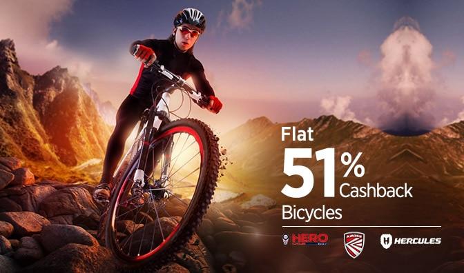 Cycle-Flat 51% Cashback