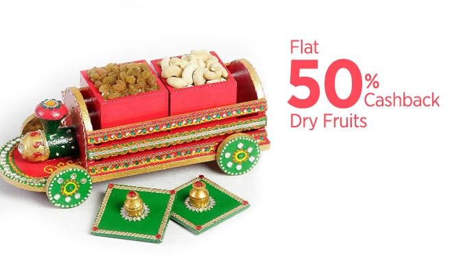 Dry Fruits - Flat 55% Cashback