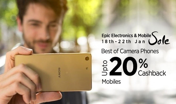 Best Selfie camera - Up to 20% cashback